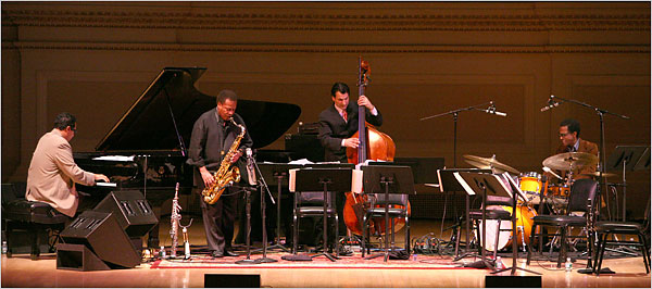 """Making the Invisible Visible"" – my interview with Wayne Shorter Quartet members Danilo Perez, John Patitucci and Brian Blade (DownBeat, March 2013) My interview with Wayne Shorter Quartet members in Downbeat, March 2013"