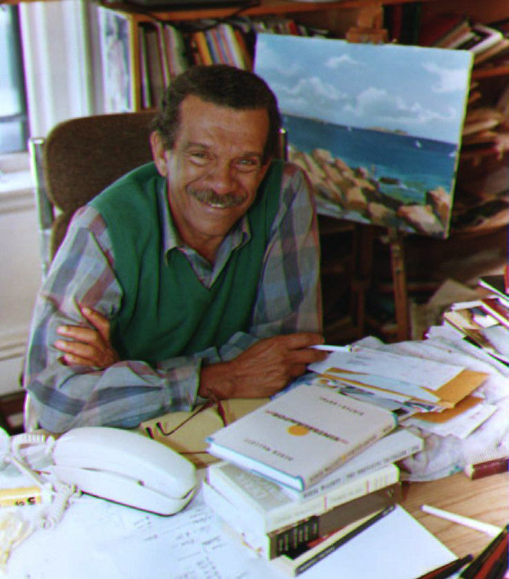 Derek Walcott, a Boston University English profess
