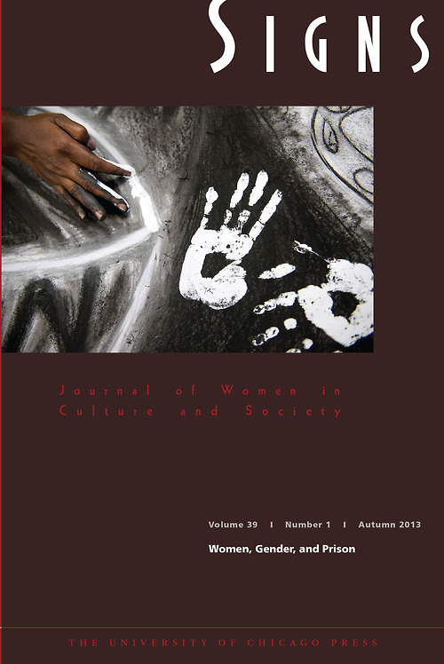 Cover of Signs 39, no. 1 featuring a detail from Toni Bowers and Natasha Ward's untitled mural