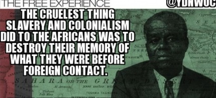 Any history or africanists out there?