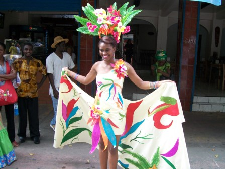 Afro-Costa Rican lady