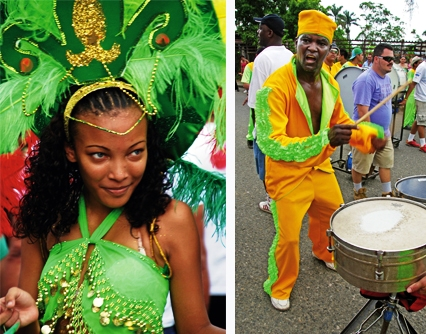 Afro-Costa Rican Carnival at Puerto Limon, Costa Rica