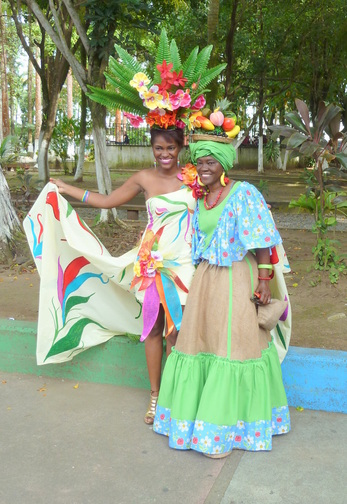 Two Afro-Costa Rican ladies Source:http://www.bjmjr.net/afromestizo/costa_rica.htm
