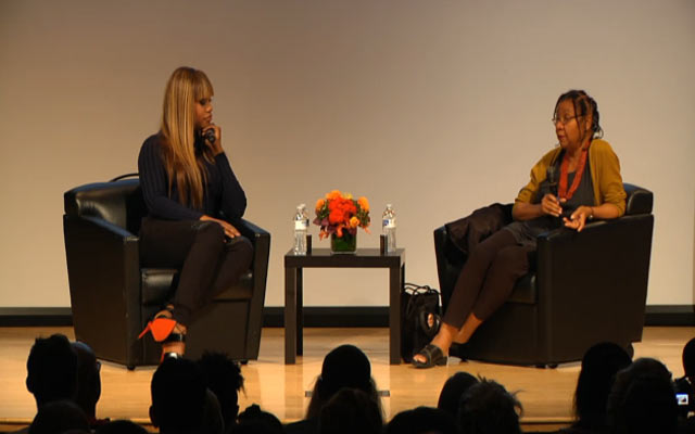 Laverne Cox and bell hooks