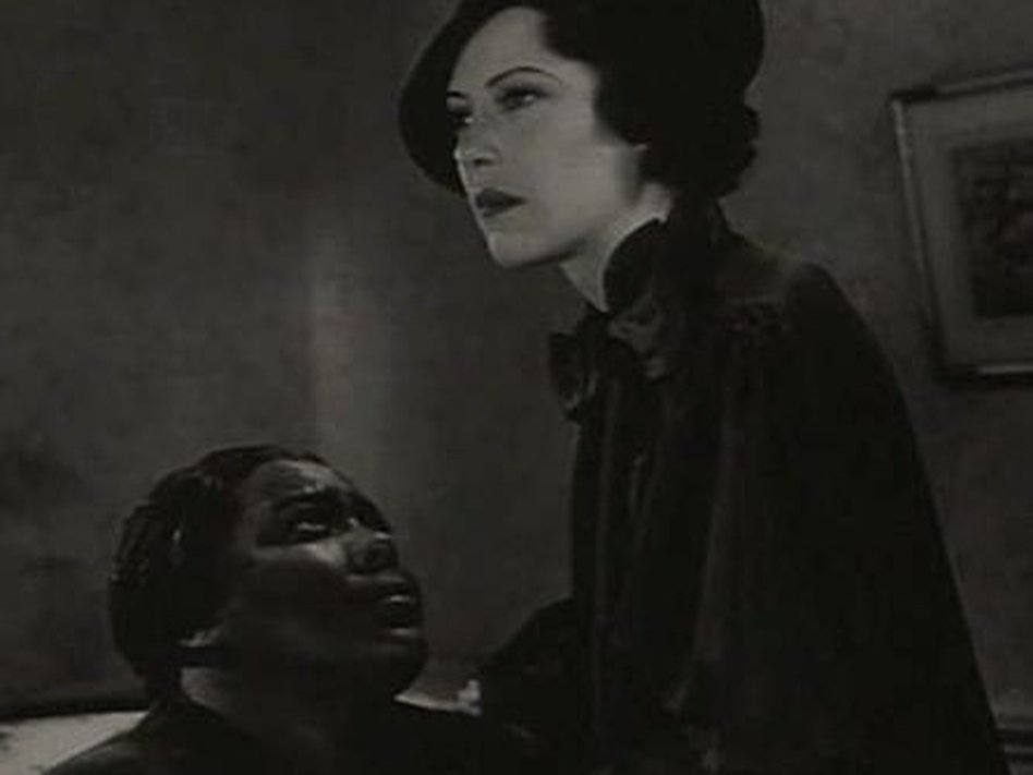 A scene from Imitation of Life, a 1934 film starring Fredi Washington playing a black woman who passes as white. / Wikimedia Commons