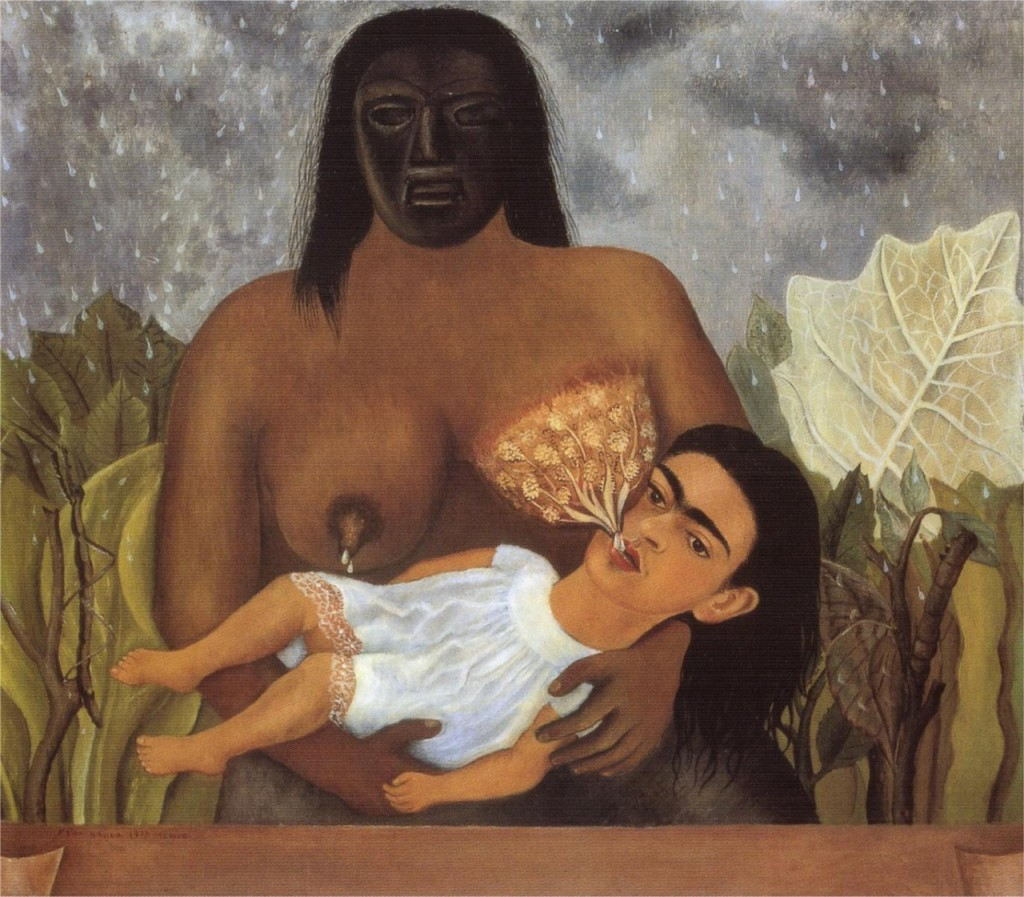 """My NURSE and I,"" Frida Kahlo, 1937."