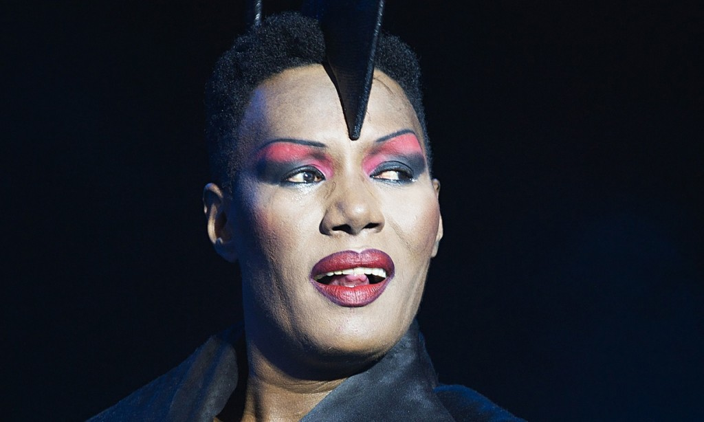 Grace Jones performs at the On Blackheath festival in London last year. Photograph: Warren King/Rex Features