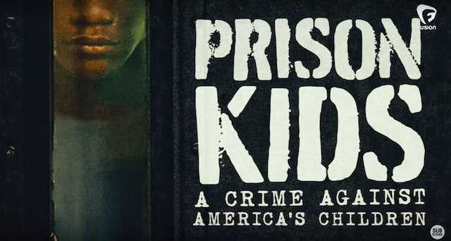 """Prison Kids"" explores the American juvenile justice system. Colorlines screenshot of Fusion's ""Prison Kids"" video."