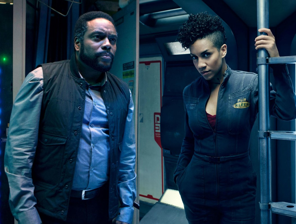 SyfyChad Coleman and Dominique Tipper in THE EXPANSE