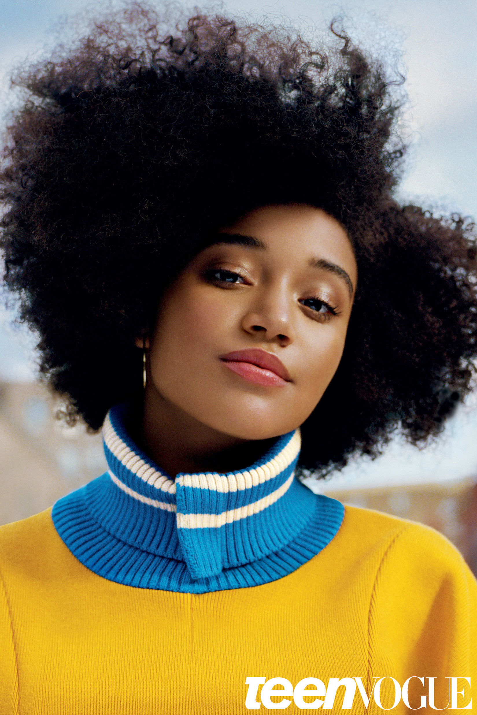 Black Girls R Magic: INTERVIEW: How Amandla Stenberg Learned To Love Her