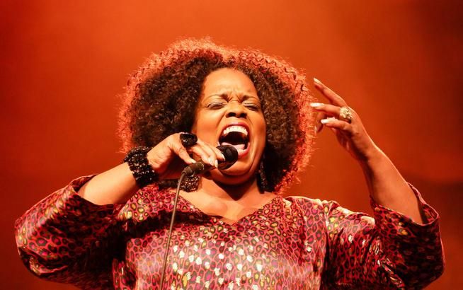Dianne Reeves performs in Poland