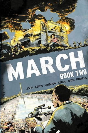 March: Book Two. Photograph: Top Shelf
