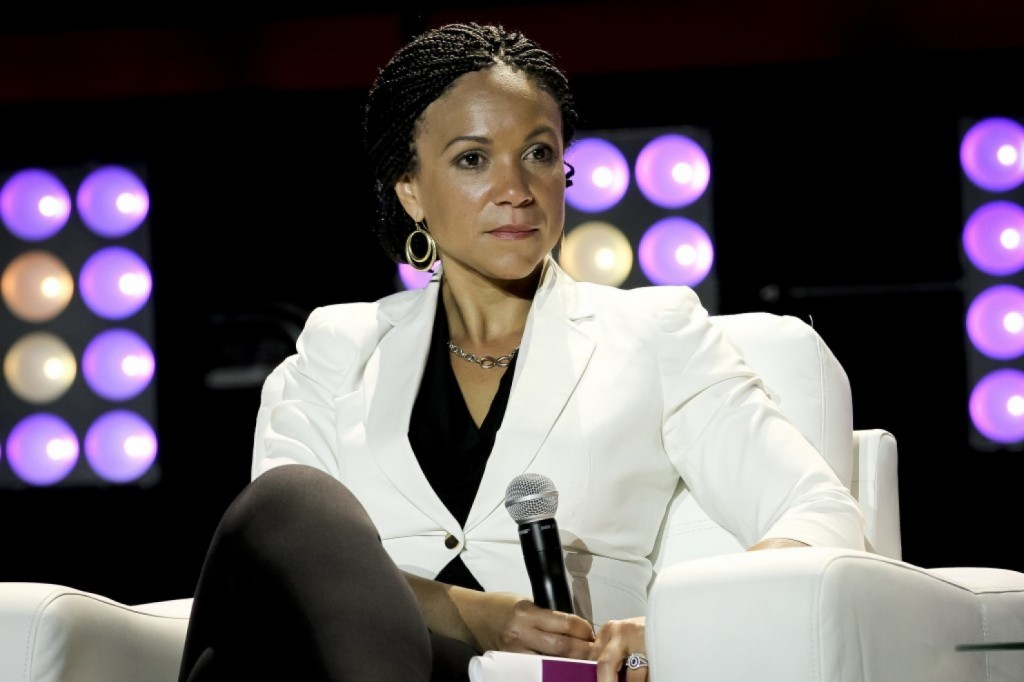 Melissa Harris-Perry attends the 2014 Essence Music Festival. (Donald Traill/Invision/AP)