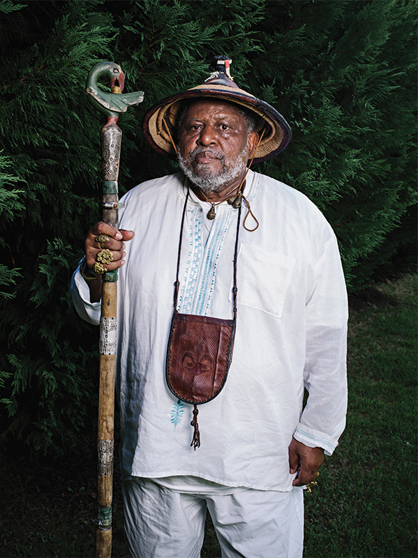 """Guardian of the Forks: Ser Boxley returned to his hometown of Natchez at age 55. """"Nowhere in this chattel-slavery museum town could I find...stories that reflected the African-American presence."""" (Wayne Lawrence)"""