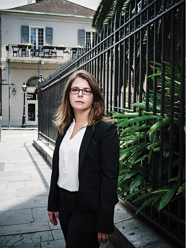 New Orleans was the biggest slave market in the country. Curator Erin Greenwald says the city's total number of slavery-related monuments, markers or historic sites is precisely one. (Wayne Lawrence)