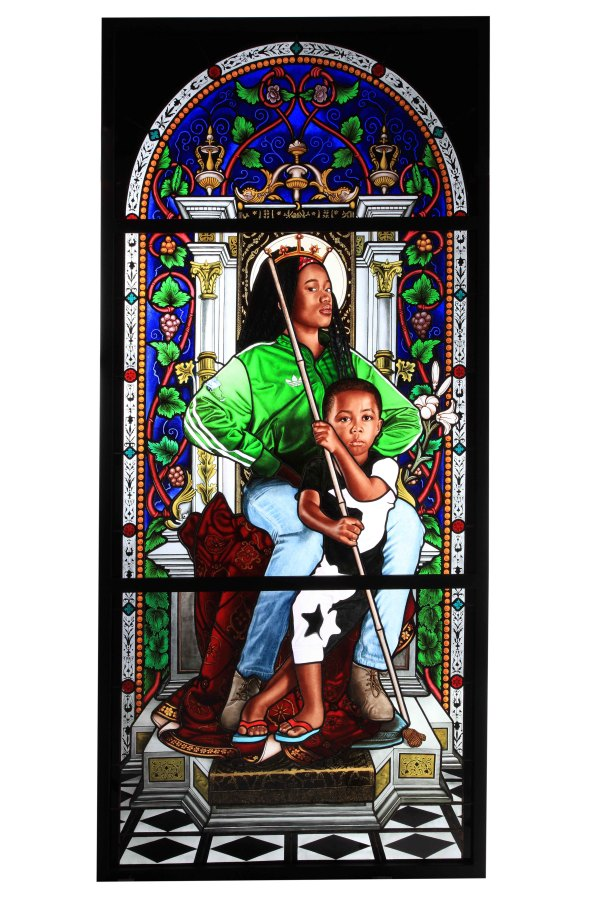 Photo: Kehinde Wiley, Madonna and Child