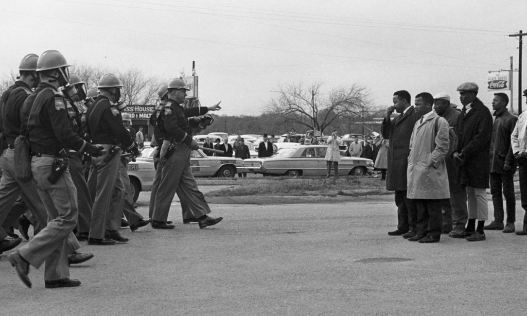 'I Am Not Your Negro is a cinematic séance, and one of the best movies about the Civil Rights era ever made' ... Raoul Peck's documentary. Photograph: PR