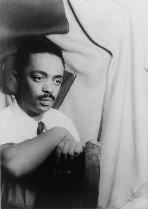 Exploring the complexities of South Africa's racial politics: Peter Abrahams, novelist, journalist and commentator, around 1955. CARL VAN VECHTEN, ALL RIGHTS RESERVED