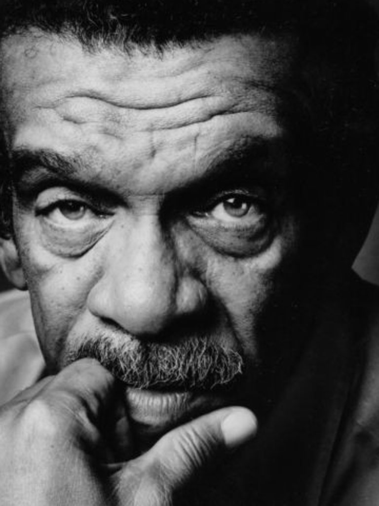 Derek Walcott (Credit: Nigel Parry from Faber)
