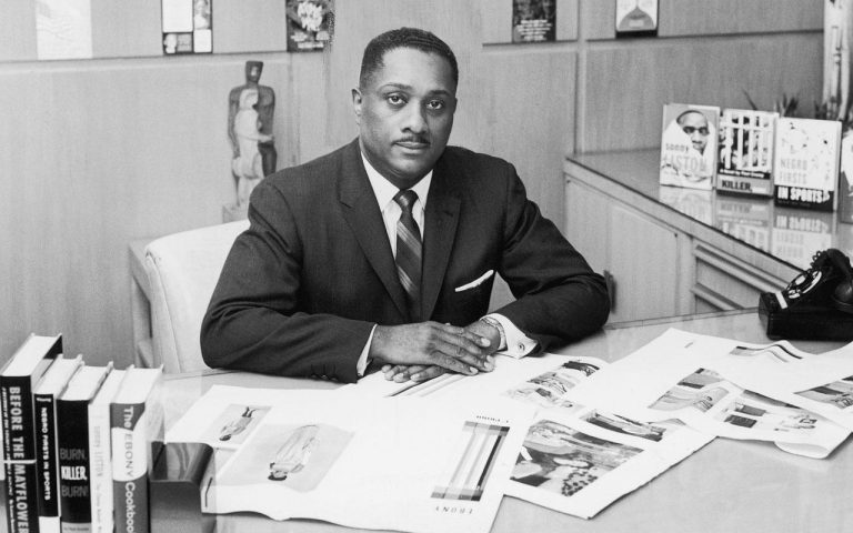 John H. Johnson, president of Johnson Publishing. Company (Source: Johnson Publishing Company)
