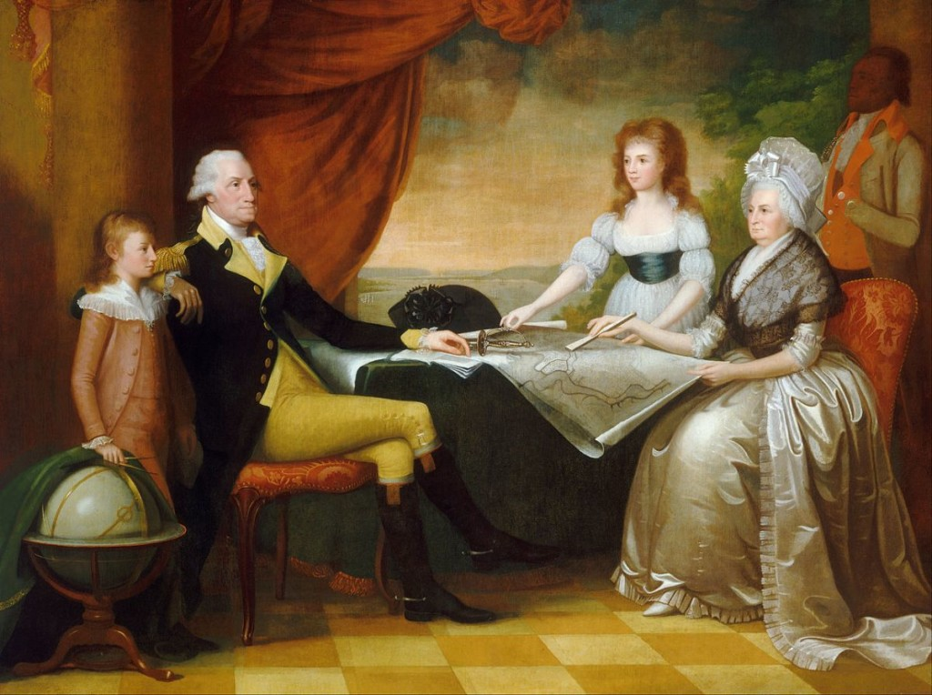 The Washington Family, by Edward Savage, c. 1789 / Wikimedia