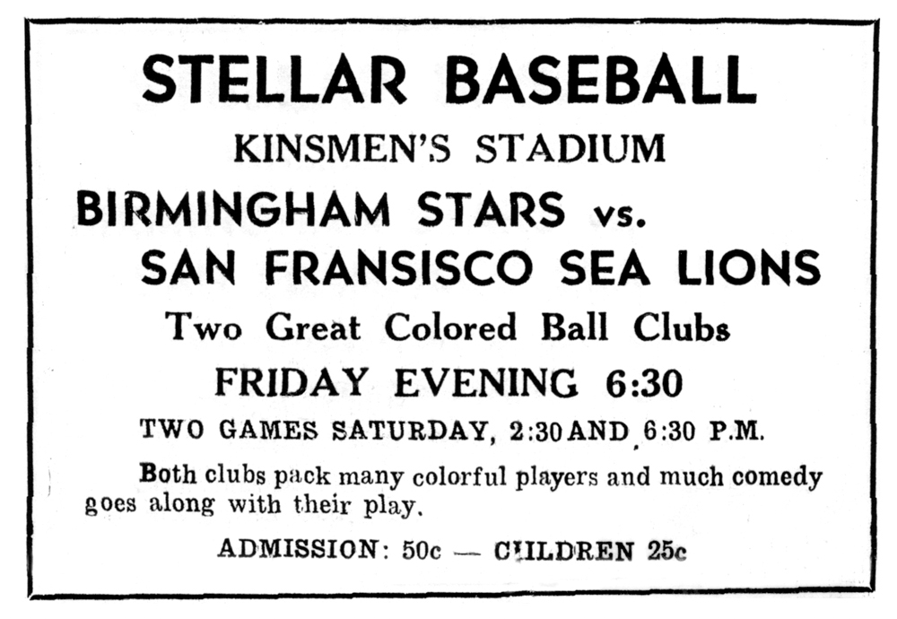 A 1948 ad published in the Brandon Daily Sun for a game in Brandon, Manitoba.