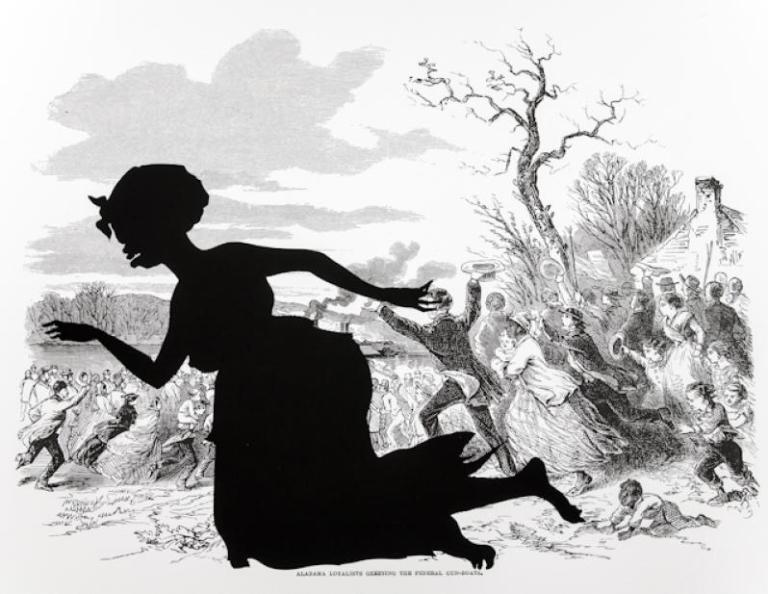 From Harper's Pictorial History of the Civil War (Annotated), Kara Walker.