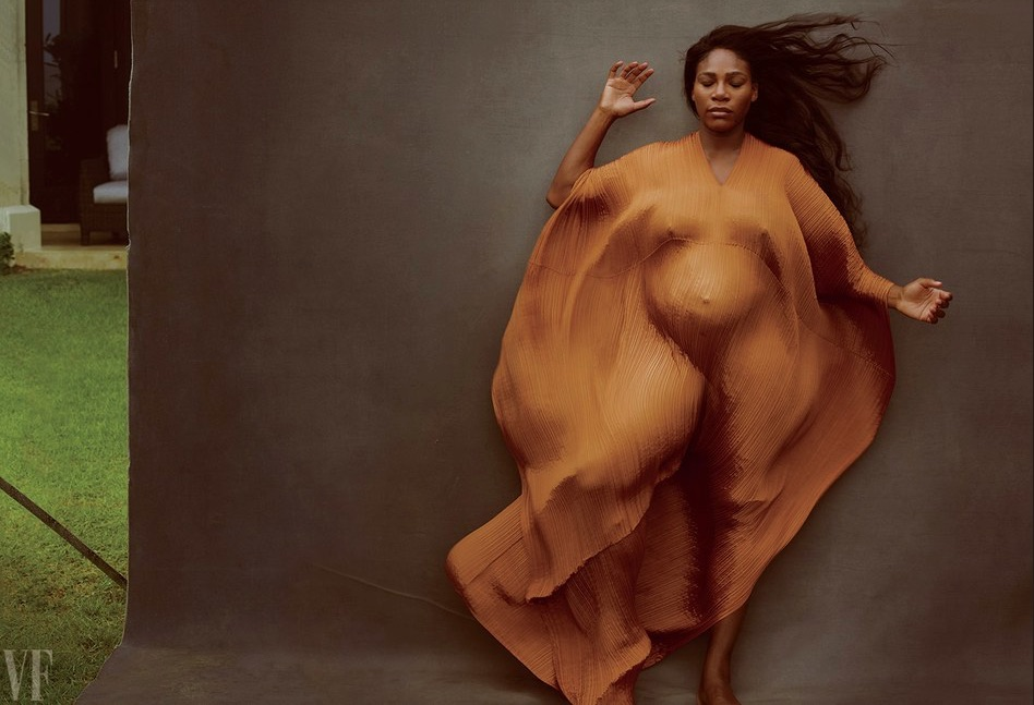 Photograph by Annie Leibovitz. A STAR IS BORN Serena Williams, photographed in Highland Beach, Florida.